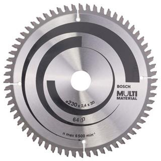 Bosch Multi Material TCT Saw Blade 230x64x30mm Bore