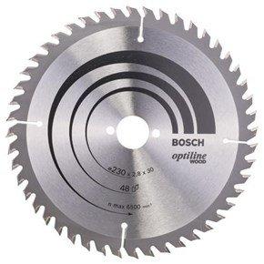Bosch Optiline Wood TCT Saw Blade 230x48x30mm Bore