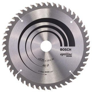 Bosch Optiline Wood TCT Saw Blade 235x48x30mm Bore