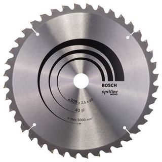 Bosch Optiline Wood TCT Saw Blade 305x40x30mm Bore