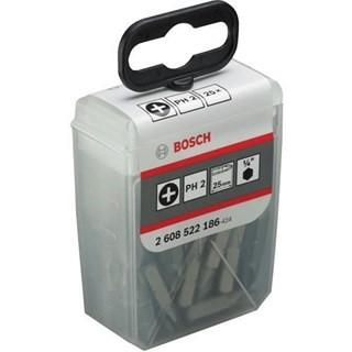 Bosch PH2 Extra-Hard Screwdriver Bits x25