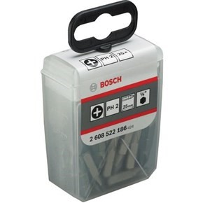 Bosch PH2 Extra-Hard Screwdriver Bits x25