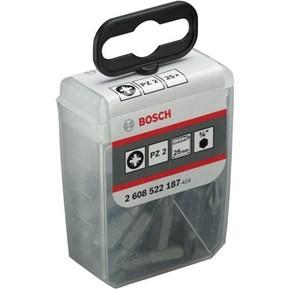 Bosch PZ2 Extra-Hard Screwdriver Bits x25