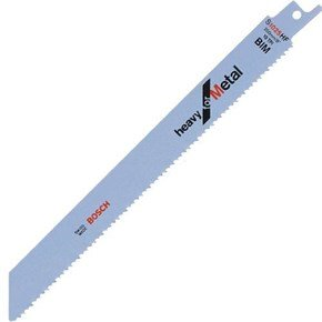 Bosch S1025HF Sabre Saw Blade for Metal (5pk)