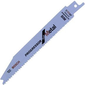 Bosch S123XF Sabre Saw Blade Metal (5pk)