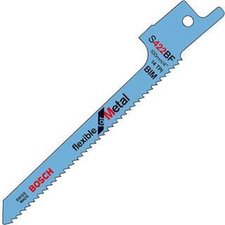 Bosch S422BF Sabre Saw Blade Metal (5pk)