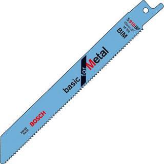 Bosch S918BF Sabre Saw Blade Metal (5pk)