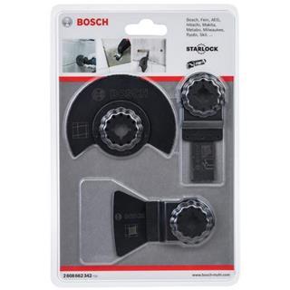 Bosch Starlock Multi-Tool Blade Set for Tile (3pk)