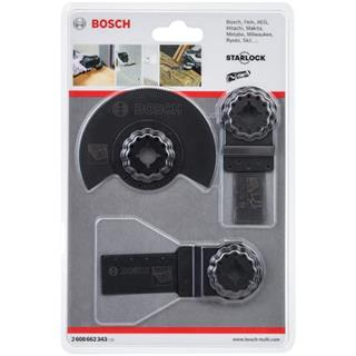 Bosch Starlock Multi-Tool Blade Set for Wood (3pk)