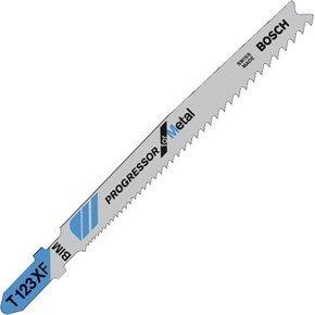 Bosch T123XF Jigsaw Blade for Metal (3pk)