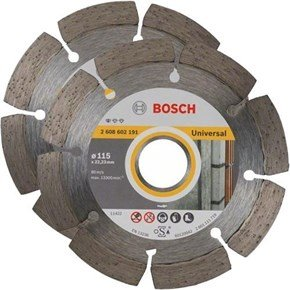 Bosch 115mm Universal Diamond Blade 2pk