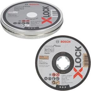 Bosch X-LOCK 125mm Inox Cutting Discs (Tin of 10)