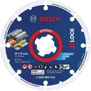 Bosch X-LOCK 115mm Diamond Metal Disc