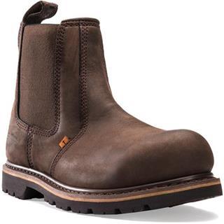 Buckler B1150 Choc Oil Leather Buckflex Boots