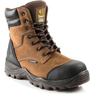 Buckler BSH008 High-Leg Zipper Boot