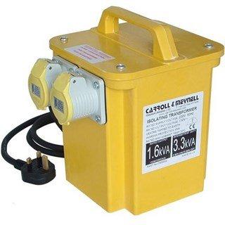 Carroll & Meynell 110v 3.3Kva Transformer