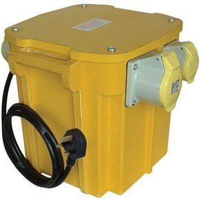 Carroll & Meynell 110v 5.0kVA Transformer with Plug