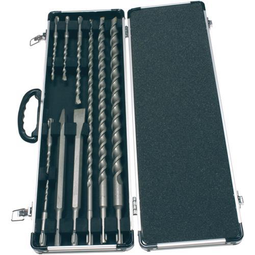 Makita D-21191 SDS-Plus Drill Bit & Chisel Set (10pcs)