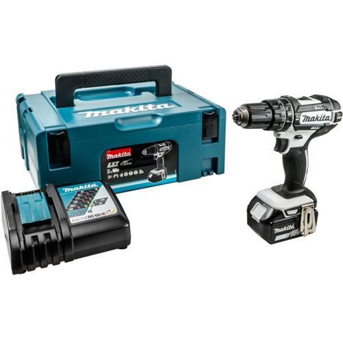 Makita DHP482 LXT 18V Combi Drill (2x 3Ah)