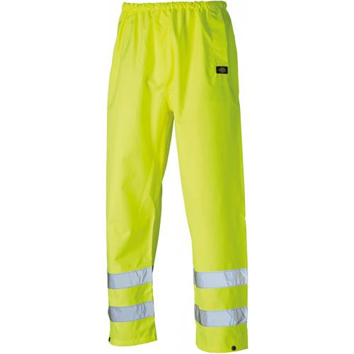Dickies Yellow Hi-Vis Safety Trousers