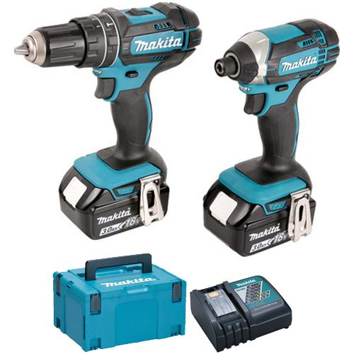 Makita DLX2131JX1 18V Twin Pack (2x 3Ah)