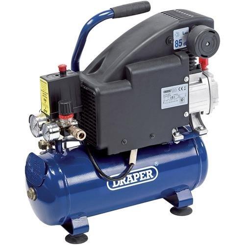 Draper 24975 8L 0.75kW Air Compressor