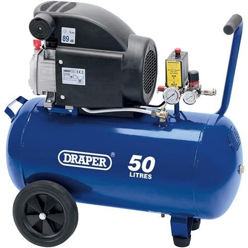 Draper 24981 50L 1.5kW Air Compressor