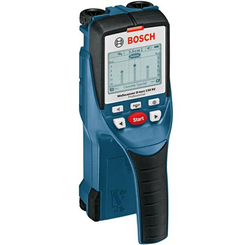 Bosch d tect 150 sv professional wall and floor scanner for Bosch scanner mural d tect 150 professional