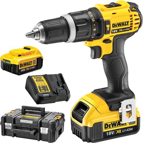 DeWalt DCD785M2 18V Combi Drill (2x 4Ah)