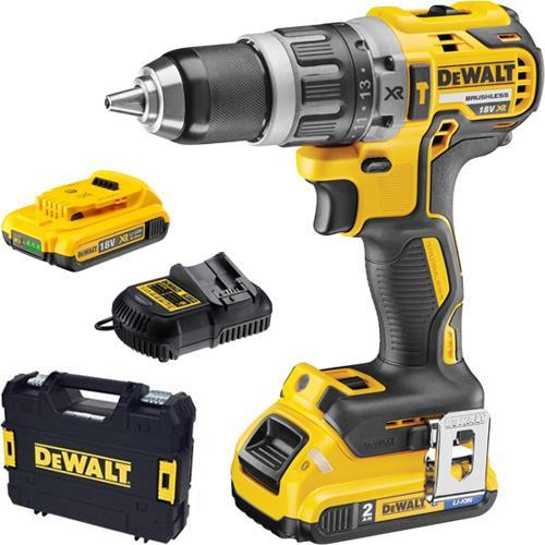 DeWalt DCD796D2 18V Brushless Combi Drill (2x 2Ah)