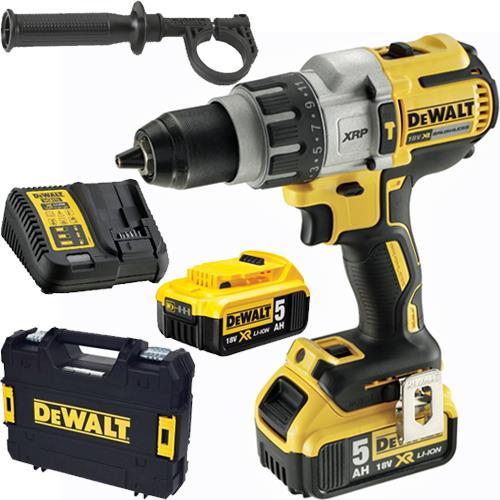 DeWalt DCD996P2 18V Premium Brushless Combi Drill (2x 5Ah)
