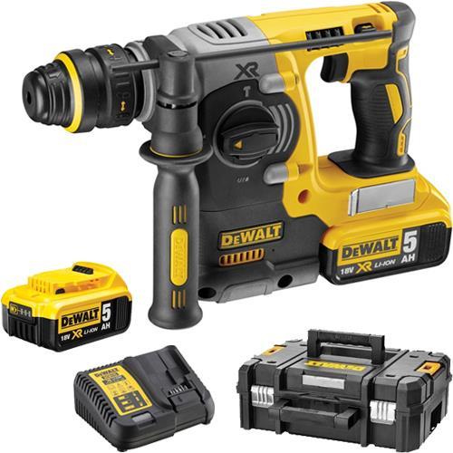 DeWalt DCH273P2 18V Brushless SDS Drill (2x 5Ah)