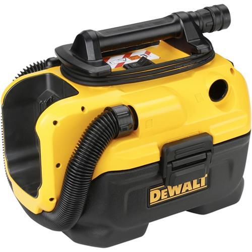 DeWalt DCV584L Mains/Cordless 7.5Ltr Wet & Dry L Class Extractor Body