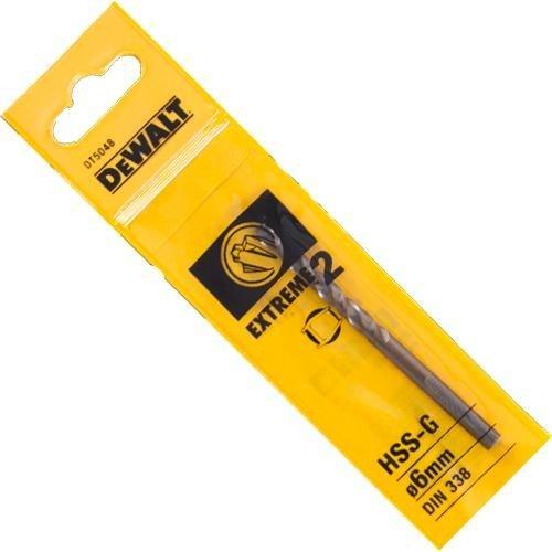 DeWalt 6.0x57mm Metal Drill Bit