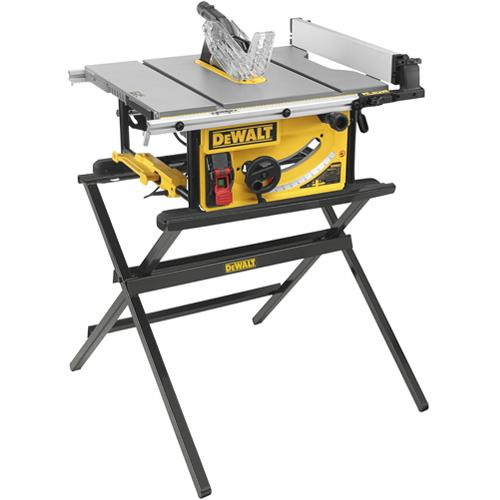 DeWalt DWE7492 250mm Table Saw + DWE74912 Stand