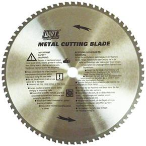 DartTCT Blade for Metal 355mm x 25.4mm x 72T