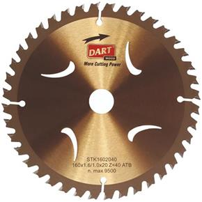 Dart Gold TCT Blade for Wood 136mm x 20mm x 20T (Cordless)