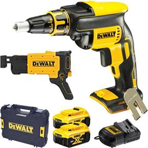 DeWalt DCF620P2K 18V Brushless Collated Drywall Screwdriver (2x 5Ah)