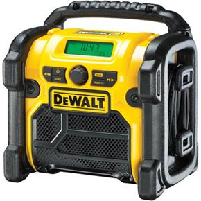 DeWalt DCR020 XR Li-ion 10.8V-18V/Mains DAB+ Site Radio (Naked)