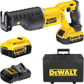DeWalt DCS380P2 18V Sabre Saw (2x 5Ah)
