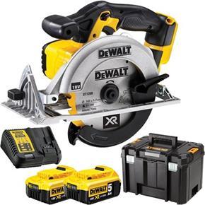 DeWalt DCS391P2 18V 165mm Circular Saw (2x 5Ah)