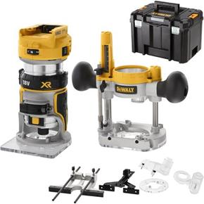 "DeWalt DCW604NT Brushless 18V 1/4"" Router (Naked, Accessories, TSTAK)"