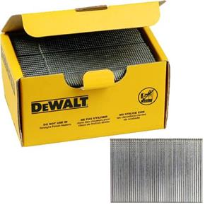 DeWalt 38mm 16G Straight Brads (2500pk)