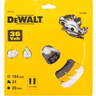 DeWalt DT1211 TCT Saw Blade 184mmx24Tx20mm