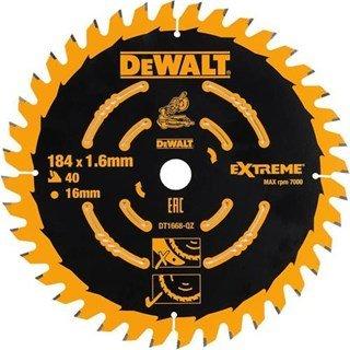 DeWalt DT1668 TCT Saw Blade 184mmx16mmx40T