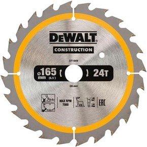 DeWalt DT1949 TCT Blade 165mm x 20mm 24T