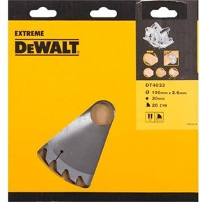 DeWalt DT4033 190mm TCT Saw Blade
