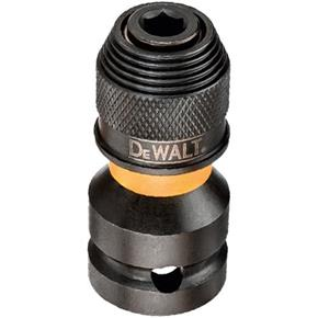 "DeWalt 1/2"" Square to 1/4"" Hex Impact Wrench Conversion Chuck"
