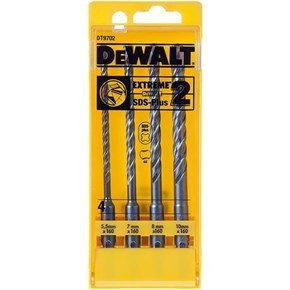 DeWalt EXTREME 2 SDS-Plus Drill Bit Set