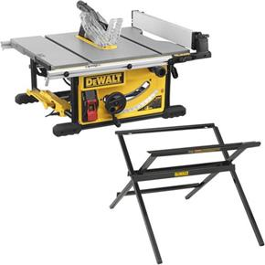 DeWalt DWE7492 1800W 250mm Table Saw + DWE74912 Stand